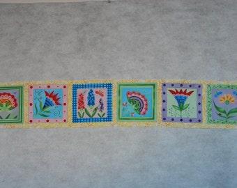 Springtime Mini-quilt Blocks