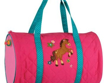 Personalized Stephen Joseph HORSE NEW Duffe Bag