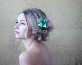Habotai Silk Rose Comb