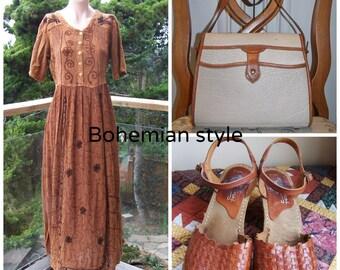 Designer Bag Dooney & Bourke 2 tone All Weather Leather purse