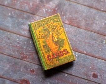 Miniature Book --- Fortune Telling Cards