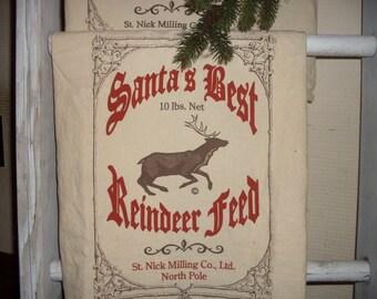 Christmas towel, Reindeer towel, flour sack towel, Holiday towel,Dish towel, tea towel , Novelty kitchen towel, Christmas towel decoration