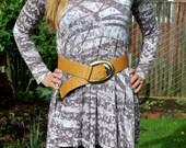 Vintage Women's Wide Leather Belt 1987