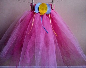 My Little Pony Tutu Skirt with Hair Clip for Girls