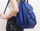New Year SALE - 20% OFF Essential in Royal Blue / Backpack / Satchel / Rucksack / Diaper Bag / Tote / Women / Shoulder Bag / For Her / Gift