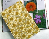 Garden Journal The Essentials with yellow daisy cover  - Available to Ship ooo