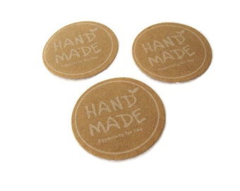 20 Sticker Label Handmade Especially for you
