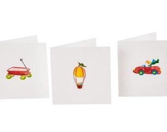 Nostalgic Collection TIny Cards  (Quantity 6)