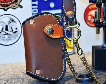 The Farkler - a Tanned Fin Wallet, Chain & Fob