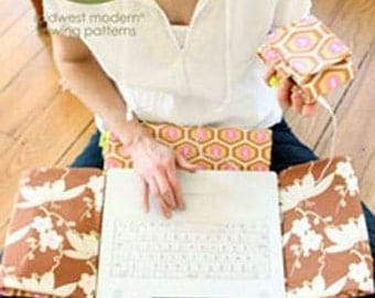 Sale!  Laptop cover & MP3 case pattern (AB035LC) - Amy Butler Design
