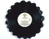 Van Halen Vinyl Record Tray / Platter Vintage LP Album 1979 (Van Halen II) Cream Colored Label