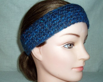 Ponyband - Head Band - crochet  - great for jogging - READY TO SHIP