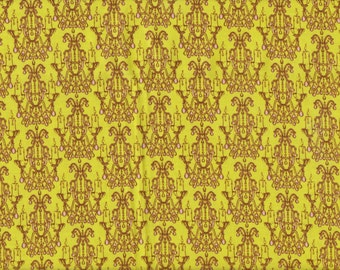 1/2 yd. Fortiny by Tina Givens - Chadelier Droplet, Chartreuse