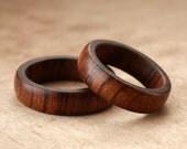 Custom Matching Tamboti Wood Rings - 6mm