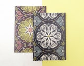 A5 Notebook // Recycled Jotter // Paisley Patterned Book // Lined Jotter // Doodle Pad