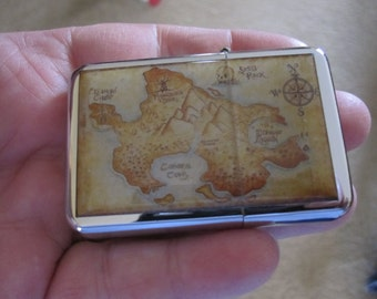 Neverland Map Peter Pan Refillable Lighter