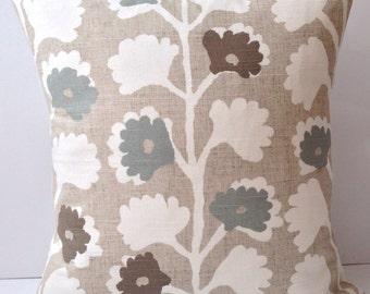Decorative Throw Pillow Cover Beige Seafoam Pillow Accent Pillow Cushion
