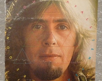 John Mayall, Ten Years Gone, vintage music, vintage 1973, record album, rock music, LP, collectible album, cover art, Polydor records, music