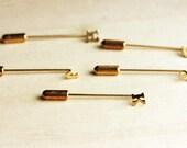 Tiny Initial Stickpin - a,b,c,d,e,f,g,h,j,k,l,m,n,p,r,s,t,w