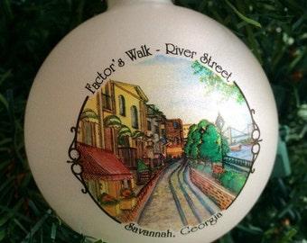 River Street, Factor's Walk, Savannah, Georgia
