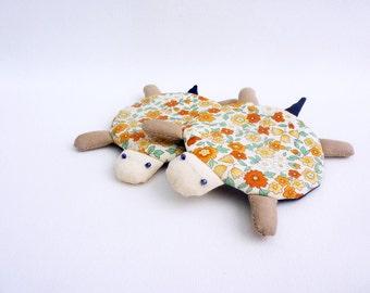 Fabric Coaster, Turtle Coasters, Coaster, Drink Coaster, Cup Coaster, Mug Coaster, Animal Coaster, Flower Coaster - Turtle