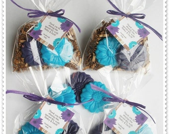 20 Daisy Soap Party Shower Favors (Tags Included-40 Soaps)