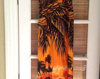 Statement Skirt: Hawaiian Sunset