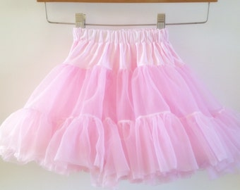 Girls Fluffy Chiffon Skirt