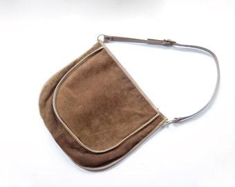 70s Susan Gail Suede Leather Purse