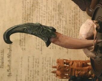 """Dragon Tooth """"Emyrs"""" Dagger (Green)"""