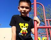 Team Super Animals - Sharp Tiger Toddler T-Shirt