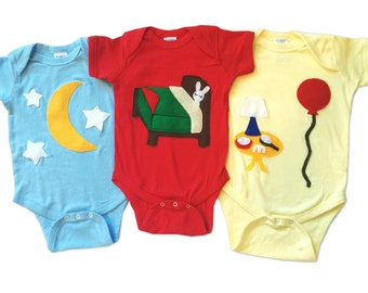 Good Night... Infant Bodysuits Triple Combo