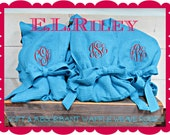 Custom Listing for ERICA    3 Monogrammed Waffle Robes