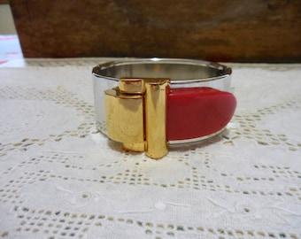 Vintage Diane von Furstenberg Buckle Bracelet