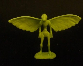 Mothman: hand-cast resin sculpture