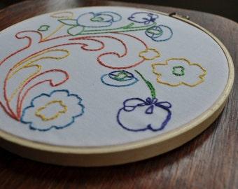 D.I.Y Embroidery Kit | Modern Scandinavian
