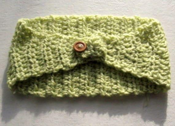 Crochet Green Hair : Crochet Head Band, Boho, Lime Green, Hair Band, Hippie Chic, Bohemian ...