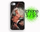 iPhone 5S Wedding Kiss Vintage iPhone 5S Case | Plastic or Rubber Case for iPhone 5 5S