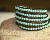 DREAMSTONES : beaded handmade bracelet boho jewelry