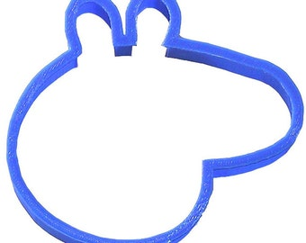 "Pig head cookie cutter 4"" Peppa Pig animal Giraffe head"