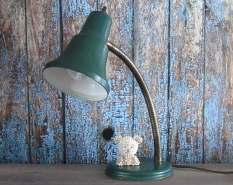 Industrial Goose Neck Lamp