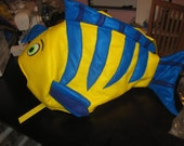 Flounder Inspired Fish costume-one size fits all