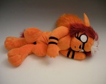 Floppy Anthro Plushie BODY - PDF PATTERN