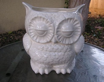 Tootsie Pop Owl Garden Planter