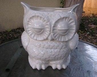 Tootsie Pop Owl Garden Planter