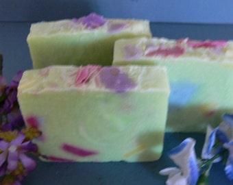 Texas Wildflowers Bar Soap