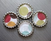 Custom Listing for kreggyfam7  - 2 sets of flattened bottlecap magnets