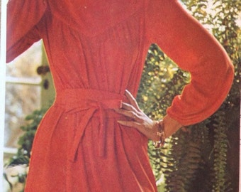 Vintage 1975 Very Easy Vogue Pattern 1201 by American Designer Leo Narducci