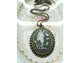 Enchanted Fairy Cameo Necklace