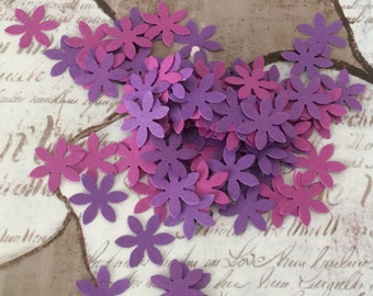 Flower Confetti - Custom Colors - Weddings Showers Events